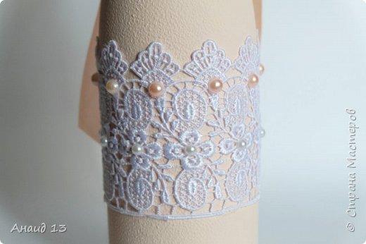 """Свадебный набор. Цвет """"розовая пудра"""" и персик. фото 7"""