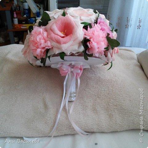 сватбен букет  фото 3