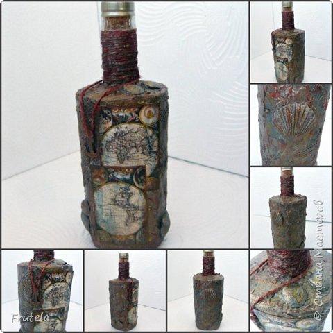 Пиратские бутылки Джека Воробья. фото 1