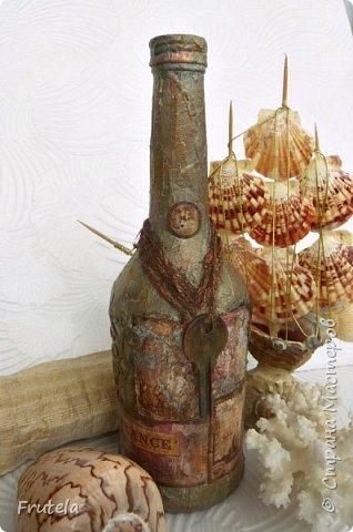 Пиратские бутылки Джека Воробья. фото 6