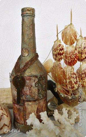 Пиратские бутылки Джека Воробья. фото 7