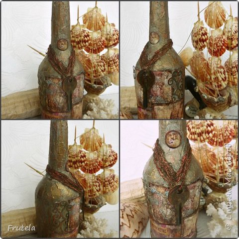 Пиратские бутылки Джека Воробья. фото 5