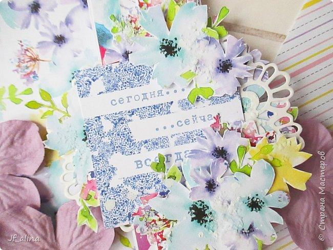 Добрый вечер! Хочу показать вам свои крохотные открытки - скраплинги, с которыми нас познакомили девочки - дизайнеры блога ScrapMagia. Эти крохи размером всего 3,8*11,4 см - узенькая полосочка, но какая же прелесть получается в итоге!!! Я восхищена этими малышами! ))) Первая серия в стиле шебби-шик: фото 10