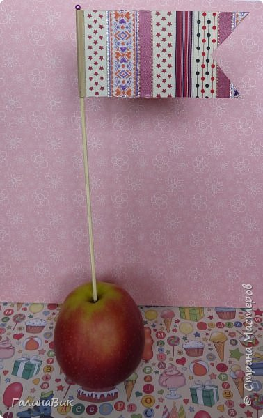 Всем добрый вечер! Предлагаю в качестве оформления праздничного стола (детского или взрослого) сделать флажки. фото 9
