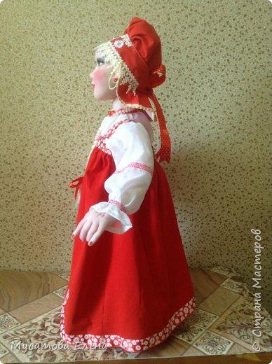 Иван да Марья .Куклы в русских народных одеждах. фото 2