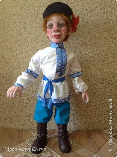 Иван да Марья .Куклы в русских народных одеждах. фото 3