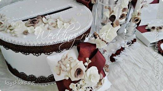 """Аппетитная коллекция свадебных аксессуаров """"Шоколадное наслаждение"""" фото 1"""