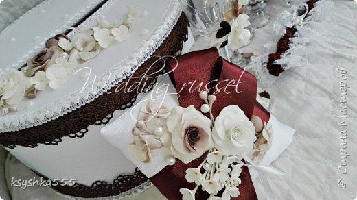 """Аппетитная коллекция свадебных аксессуаров """"Шоколадное наслаждение"""" фото 4"""