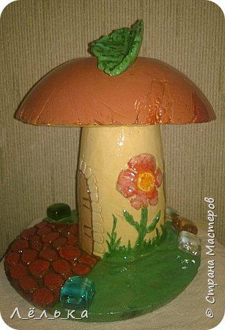 Всем привет! Вот как то нашла на просторах страны мастеров чудо-гриб http://stranamasterov.ru/node/509489?c=favorite. Решила что как-нибудь попробую. И вот... фото 6