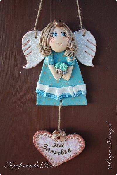 Ангел из соленого теста  фото 1