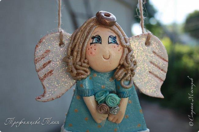 Ангел из соленого теста  фото 4