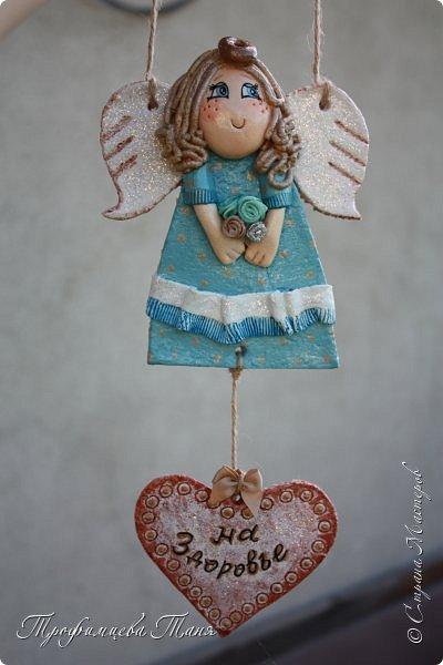 Ангел из соленого теста  фото 3