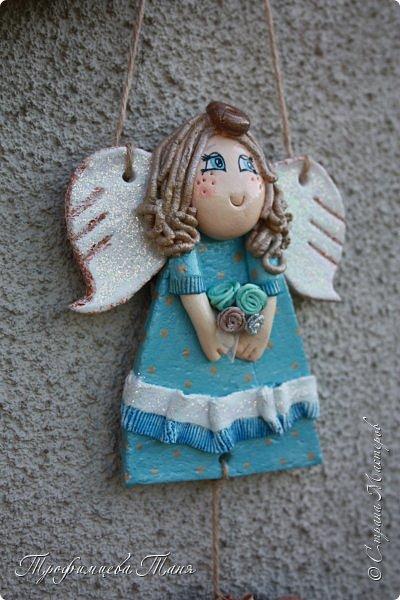 Ангел из соленого теста  фото 6
