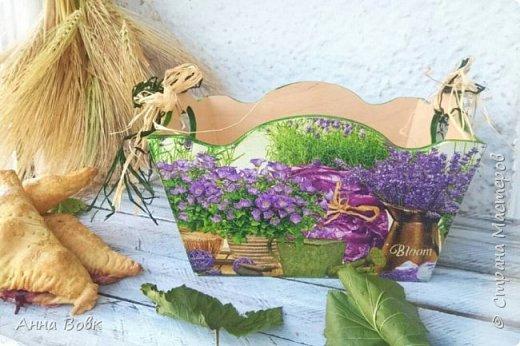 """конфетница """"Прованские травы"""" фото 2"""