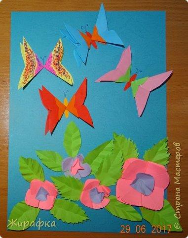 Бабочки- это летающие цветы. фото 1