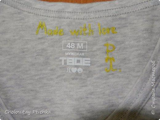О кислотном Жирафе замолвите слово..... А ведь всё так просто начиналось, др друга, футболка с эксклюзивным рисунком, ну нравятся другу жирафы, ну говорит он, что до сих пор является панком, так почему бы и не совместить жирафа и ирокез зелёный, и веточку травы жирафу в зубы, для композиции..... фото 3