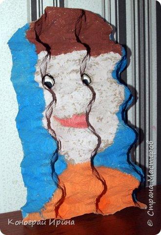 В продолжении темы использования картонных яичных лотков :-)  Забавные 3D-портреты. фото 6