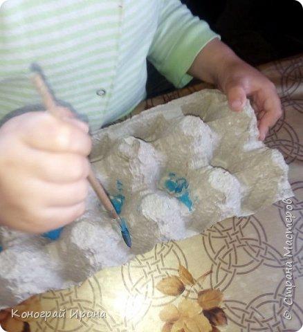 В продолжении темы использования картонных яичных лотков :-)  Забавные 3D-портреты. фото 2