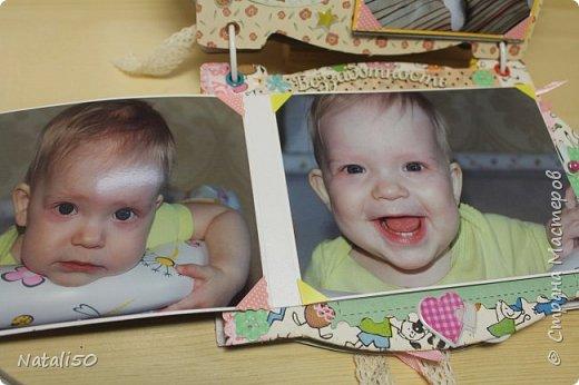 Доброго всем вечера!! Сегодня у моей любимой внучки День Рождения!! Нам 1 годик !! Закончила альбом ,осталась 1 страничка для фото со Дня Рождения. Завтра отпразднуем и добавлю фото . фото 18