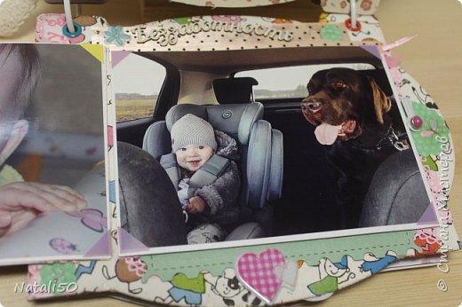 Доброго всем вечера!! Сегодня у моей любимой внучки День Рождения!! Нам 1 годик !! Закончила альбом ,осталась 1 страничка для фото со Дня Рождения. Завтра отпразднуем и добавлю фото . фото 19