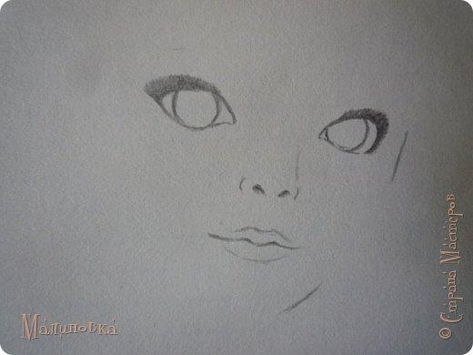Добрый вечер!  Сегодня я покажу вам, как нарисовать Алису из сказки Льюиса Кэрролла. Нам нужны: простой карандаш, ластик, цветные карандаши (у меня 24 цвета), коричневая, черная и зеленая ручки, белый линер (белая ручка). Ну и, естественно, бумага, на которой вы будете рисовать... фото 9