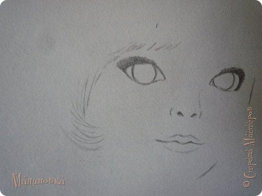 Добрый вечер!  Сегодня я покажу вам, как нарисовать Алису из сказки Льюиса Кэрролла. Нам нужны: простой карандаш, ластик, цветные карандаши (у меня 24 цвета), коричневая, черная и зеленая ручки, белый линер (белая ручка). Ну и, естественно, бумага, на которой вы будете рисовать... фото 11
