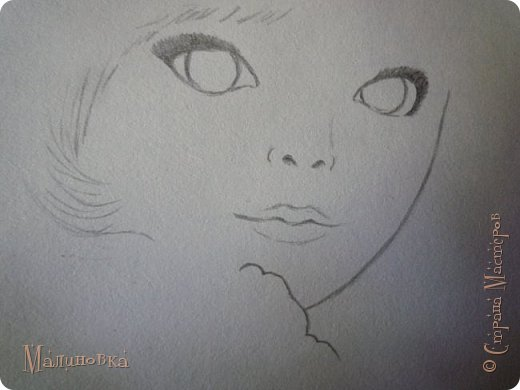 Добрый вечер!  Сегодня я покажу вам, как нарисовать Алису из сказки Льюиса Кэрролла. Нам нужны: простой карандаш, ластик, цветные карандаши (у меня 24 цвета), коричневая, черная и зеленая ручки, белый линер (белая ручка). Ну и, естественно, бумага, на которой вы будете рисовать... фото 13