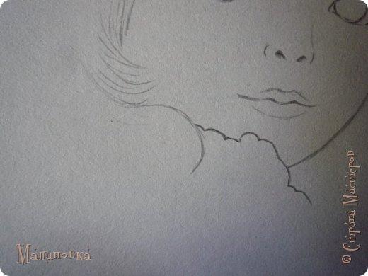 Добрый вечер!  Сегодня я покажу вам, как нарисовать Алису из сказки Льюиса Кэрролла. Нам нужны: простой карандаш, ластик, цветные карандаши (у меня 24 цвета), коричневая, черная и зеленая ручки, белый линер (белая ручка). Ну и, естественно, бумага, на которой вы будете рисовать... фото 14