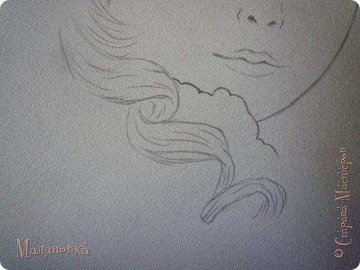 Добрый вечер!  Сегодня я покажу вам, как нарисовать Алису из сказки Льюиса Кэрролла. Нам нужны: простой карандаш, ластик, цветные карандаши (у меня 24 цвета), коричневая, черная и зеленая ручки, белый линер (белая ручка). Ну и, естественно, бумага, на которой вы будете рисовать... фото 16