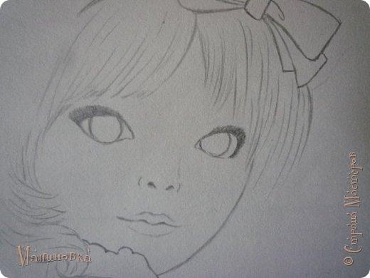 Добрый вечер!  Сегодня я покажу вам, как нарисовать Алису из сказки Льюиса Кэрролла. Нам нужны: простой карандаш, ластик, цветные карандаши (у меня 24 цвета), коричневая, черная и зеленая ручки, белый линер (белая ручка). Ну и, естественно, бумага, на которой вы будете рисовать... фото 25
