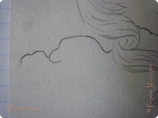 Добрый вечер!  Сегодня я покажу вам, как нарисовать Алису из сказки Льюиса Кэрролла. Нам нужны: простой карандаш, ластик, цветные карандаши (у меня 24 цвета), коричневая, черная и зеленая ручки, белый линер (белая ручка). Ну и, естественно, бумага, на которой вы будете рисовать... фото 27