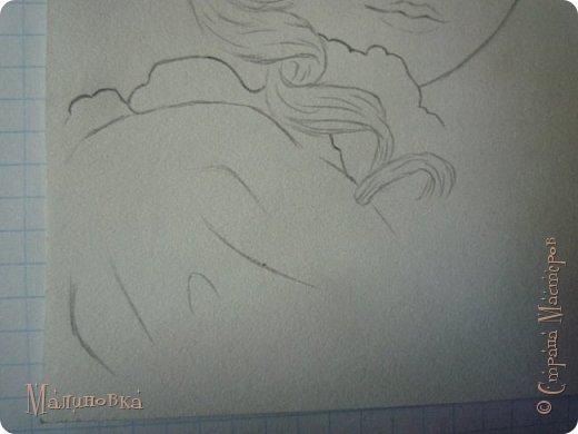 Добрый вечер!  Сегодня я покажу вам, как нарисовать Алису из сказки Льюиса Кэрролла. Нам нужны: простой карандаш, ластик, цветные карандаши (у меня 24 цвета), коричневая, черная и зеленая ручки, белый линер (белая ручка). Ну и, естественно, бумага, на которой вы будете рисовать... фото 29