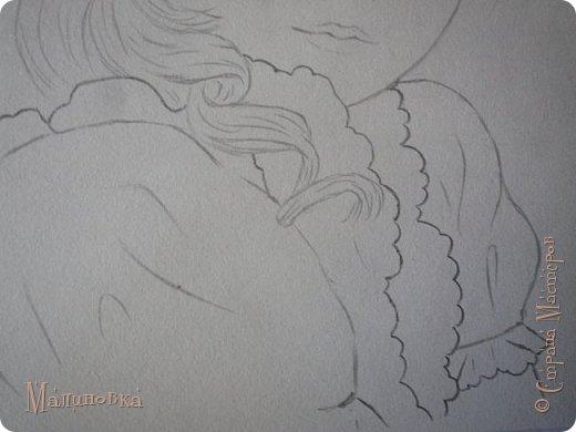 Добрый вечер!  Сегодня я покажу вам, как нарисовать Алису из сказки Льюиса Кэрролла. Нам нужны: простой карандаш, ластик, цветные карандаши (у меня 24 цвета), коричневая, черная и зеленая ручки, белый линер (белая ручка). Ну и, естественно, бумага, на которой вы будете рисовать... фото 39