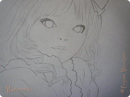 Добрый вечер!  Сегодня я покажу вам, как нарисовать Алису из сказки Льюиса Кэрролла. Нам нужны: простой карандаш, ластик, цветные карандаши (у меня 24 цвета), коричневая, черная и зеленая ручки, белый линер (белая ручка). Ну и, естественно, бумага, на которой вы будете рисовать... фото 41