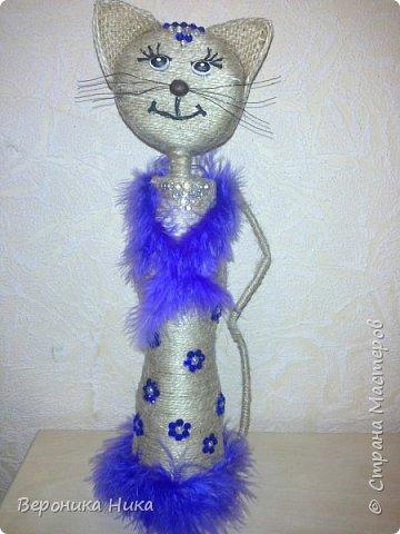 Привет всем мастерам и мастерицам!  Вот и появилась на свет очередная кошка, но теперь уже принцесса.. Не судите строго.... фото 1