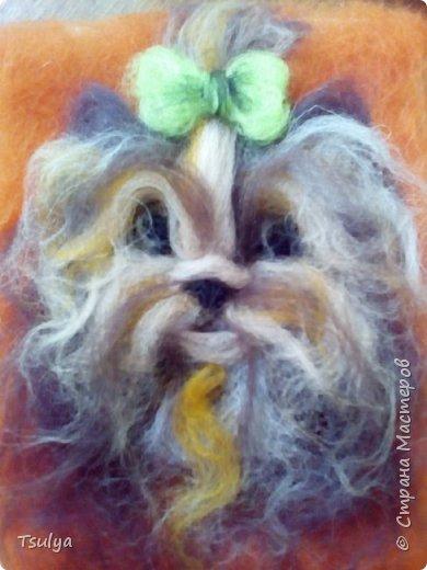 Вот такая собачка у меня получилась. фото 2