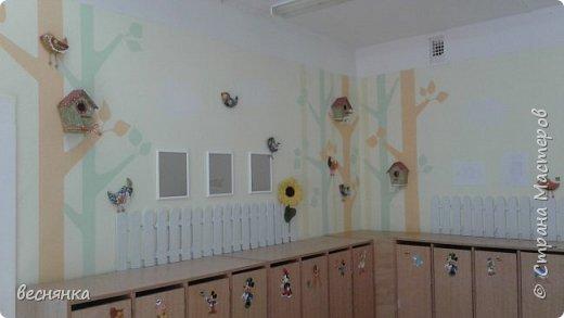Оформление раздевальной комнаты в детском саду. фото 1