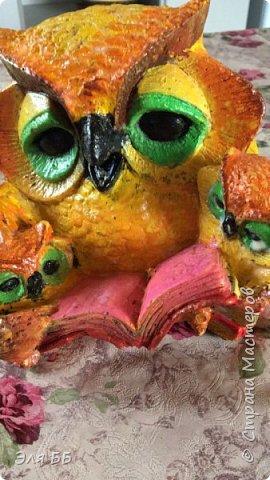 Вот такая красивая сова будет украшать участок моей тети фото 10