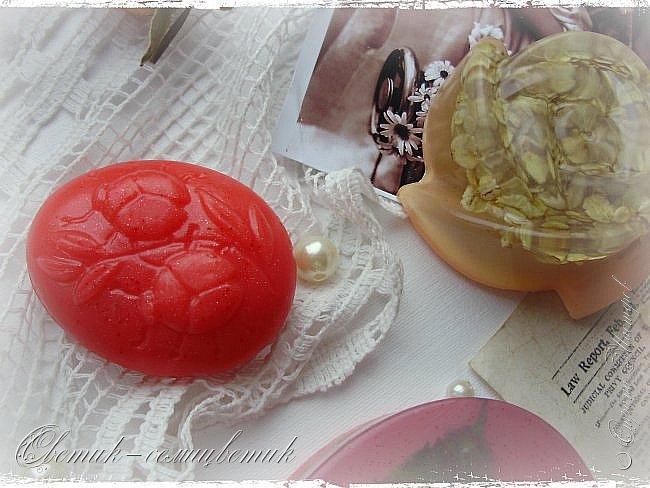"""Доброго летнего дня всем! Сегодня у меня мыло и бомбочки для ванн, которые я назвала """"Винтажная роза"""". фото 5"""