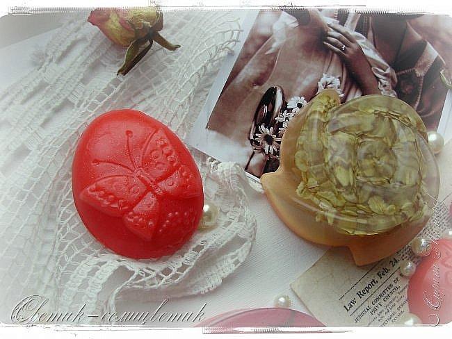 """Доброго летнего дня всем! Сегодня у меня мыло и бомбочки для ванн, которые я назвала """"Винтажная роза"""". фото 6"""