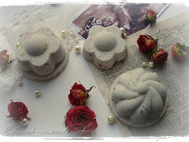 """Доброго летнего дня всем! Сегодня у меня мыло и бомбочки для ванн, которые я назвала """"Винтажная роза"""". фото 7"""