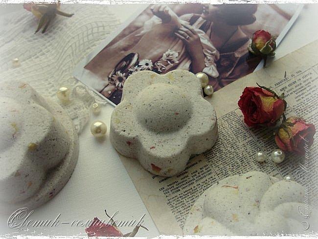 """Доброго летнего дня всем! Сегодня у меня мыло и бомбочки для ванн, которые я назвала """"Винтажная роза"""". фото 10"""