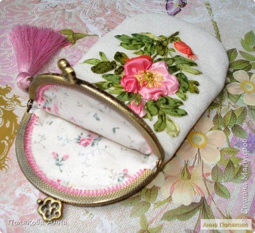 Дорогие мастерицы!  Сшила два очечника, украшенные вышивкой шелковыми лентами. фото 2
