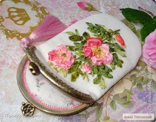 Дорогие мастерицы!  Сшила два очечника, украшенные вышивкой шелковыми лентами. фото 3