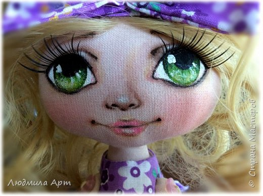 Долго творила голубоглазых брюнеток и вот решилась на зеленоглазую блондинку. Получилось какое-то чудо... фото 3