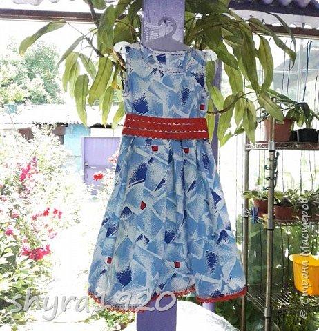 Летнее платье для девочки . фото 3