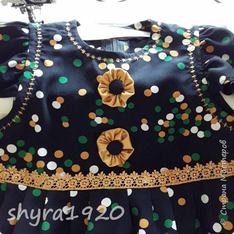 Летнее платье для девочки . фото 9