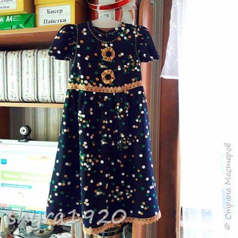 Летнее платье для девочки . фото 6