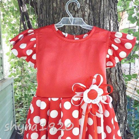Летнее платье для девочки . фото 13