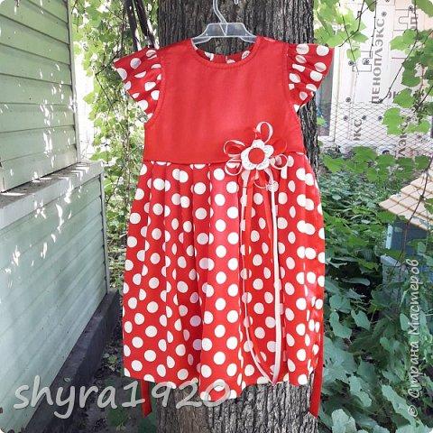 Летнее платье для девочки . фото 11